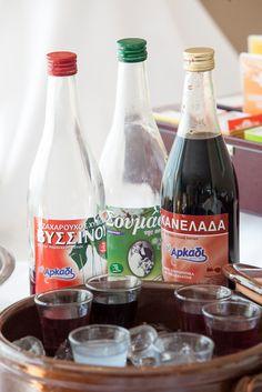 Soumada, Βyssinada & Kanelada - Traditional Greek Soft Drinks