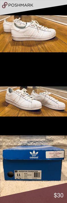176b3a5e7 ADIDAS Original Superstar Foundation - Size 11 Adidas Originals Superstar  Foundation - Size 11  solid