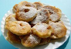 Receta de Pancakes crujientes de manzana y avena