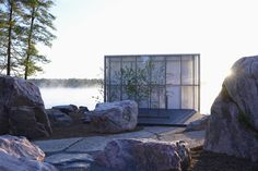 This Mesmerizing Glass House Is Also a Photographer's Lakeside Studio - Photo 12 of 14 - Dwell