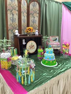 Amazing Frozen Fever birthday party! See more party planning ideas at CatchMyParty.com!