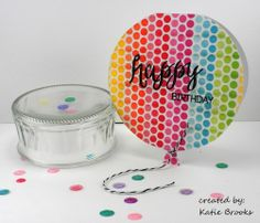 Up, up and away washi tape card