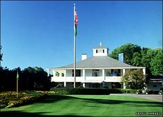 Augusta National clubhouse, true Southern grandeur