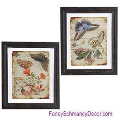 Glass Butterfly Print by Raz Imports