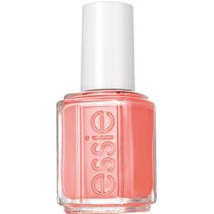 essie corals nail color, peachside babe 0.46 oz (14 ml) ($8.50) ❤ liked on Polyvore featuring beauty products, nail care, nail polish, nails, beauty, makeup, fillers, essie nail color, essie and essie nail polish