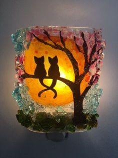 Night Light – Kittens in a Cherry Tree