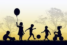 Recent studies have consistently shown that almost half of preschool age children don't get enough time playing outside. Some children rarely get the chance to play outside. How sad!