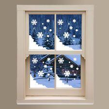 Noël flocon de neige neige hiver décoration stickers shop nouveau DIY Mur Fenêtre Noël A290