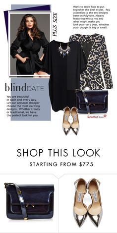 """What to Wear: Blind Date"" by beebeely-look ❤ liked on Polyvore featuring Tara Lynn, Marni, Jimmy Choo, women's clothing, women, female, woman, misses, juniors and sammydress"