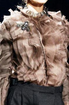Fabulous Lanvin chiffon blouse.