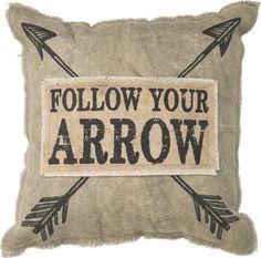 Follow Your Arrow Pillow – Laney Lu's Boutique