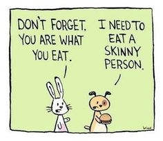 On a diet. #diet #skinny #food #healthy #eatclean #nutricionist #humor