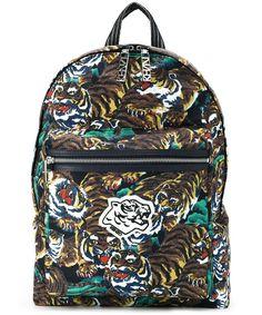 KENZO Kenzo Men'S  Multicolor Polyamide Backpack'. #kenzo #bags #backpacks #