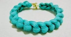 Make a Blue Bracelet From Hemp Just choose a suitable color of hemp and then watch the pictures. Fold, cut and knot it in the righ...