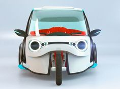 Design magazine sharing creative design ideas, future concepts, gadgets, architectural wonders and art and design Electric Trike, Moto Car, Design Language, Touring, Bicycles, Motorbikes, Cars, Trike Motorcycle, Blue Prints