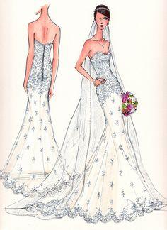 debi griffin illustrative moments wedding sketches
