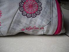 Gute Laune Tasche Detail