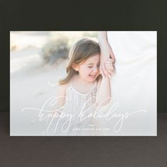 """""""hold my hand"""" - Holiday Photo Cards in Snow by Phrosne Ras. Hold My Hand, Hold On, Christmas Photo Cards, Holiday Cards, Holiday Postcards, Custom Photo, Diy And Crafts, Wedding Invitations, Flower Girl Dresses"""