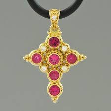 cross pendant gemstone - Google-Suche