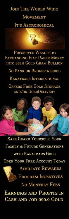 Gold in small units from Karatbars International Affiliate Partner, Your Family, Business Opportunities, Extra Money, Helping Others, Wealth, Accounting, First Love, Investing