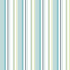 Colours Paste The Wall Multistripe Blue & Green Wallpaper: Image 1