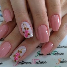 10 Amazing Spring Nail Art Designs That You Should Try Asap Elegant Nail Designs, Elegant Nails, Stylish Nails, Trendy Nails, Nail Art Designs, Spring Nail Art, Spring Nails, Summer Nails, Winter Nails