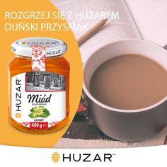 -Dwie łyżki proszku z drzewa karobowego lub kakao -Dwa kubki mleka -1/2 łyżeczki ekstraktu waniliowego -Dwie łyżki miodu lipowego Huzar -1/2 łyżeczki cynamonu