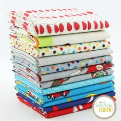 Monkey Tales Boy - Fat Quarter Bundle (EM.MT.BO.12FQ) by Erin Michael for Moda