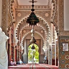 A mosque in tangier city (north if morocco)