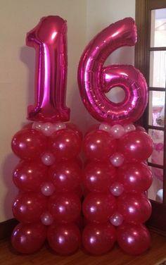 Column Balloon Decor ~ Tulsa, OK