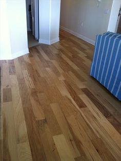 Hickory: BuildDirect – Engineered Hardwood - Handscraped Collection – Hickory - Hallway View