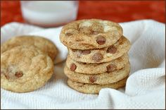 Snickerdoodles with Cinnamon Chips (Curated for BlogHer Loves Holiday Cookies sponsored by BankAmericard Cash Rewards™ credit card)