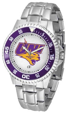 Mens Northern Iowa Panthers - Competitor Steel Watch