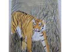 Painting: Watercolour Tiger