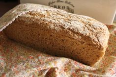 Freshly baked bread, one of Mai's favourite smells :)