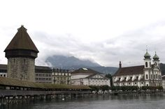 Things to do in Lucerne - The Chapel Bridge