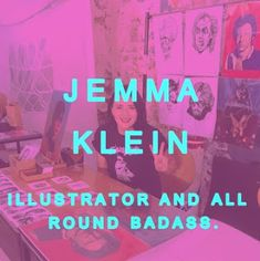 // Meet Your Local Girl Gang // Jemma Klein // Hull Illustrator // Interview on The Rebel Girls Club //