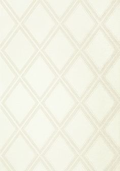 DIAMOND HEAD, White, T85059, Collection Greenwood from Thibaut