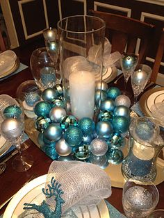 Engineering Life and Style: Christmas Tablescape Trial Run