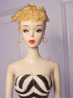 vintage Barbie 1960 #3 Blonde. my favorite Barbie