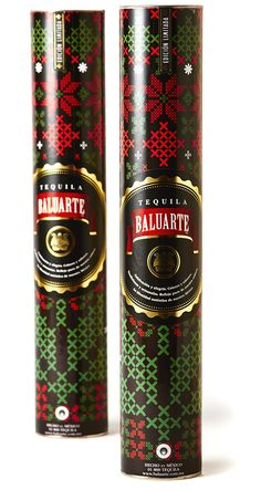 Special Edition Tequila Baluarte Packaging Christmas Season
