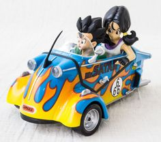 Dragon Ball Z Figure & Car Videl & Gohan Ver. Banpresto JAPAN ANIME MANGA