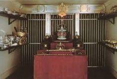 El cuarto de seguridad, para almacenar las joyas y la plata de la corona.