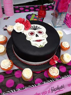 Mexican style birthday cake