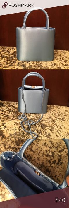 🚨At Lowest Price🚨Formal Handbag Baby blue formal purse. Comes with attached shoulder strap as seen in photo. Bags Shoulder Bags
