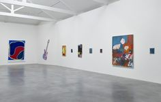 """Installation view of the """"True Colours"""" exhibition at Damien Hirst's Newport Street Gallery. Photo by Prudence Cuming Associates, courtesy of the Newport Street Gallery."""