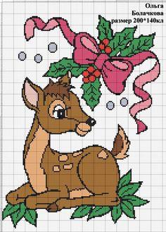 Christmas Charts, Crochet Christmas Hats, Christmas Crochet Patterns, Cross Stitch Cards, Cross Stitch Animals, Tapestry Crochet Patterns, Embroidery Patterns, Cross Stitch Designs, Cross Stitch Patterns