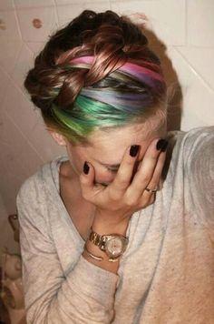 hair dye hair style design fashion