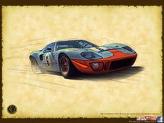 Ford GT40 Copyright by Guillaume LOPEZ