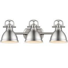 Classic Dome Shade 3 Socket Vanity Light